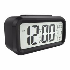 "5.3"" Digital LED Desk Travel Alarm Clear Display Clock - Date / Snooze / Light"