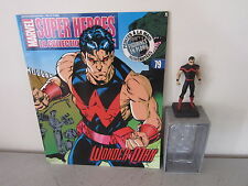 WONDER MAN - SUPER HEROES MARVEL LA COLLECTION OFFICIELLE N°79 FIGURINE EN PLOMB