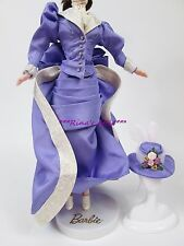 1800's Victorian Lavender Purple Dress Barbie Doll Fashion Gown