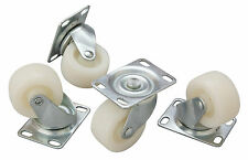 Replacement Castors/ Wheels for Bottle Skip Bin Pack 4 Bar Pub
