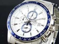 CASIO EDIFICE Chronograph 100M EF547D-7A2 EF-547D-7A2 Free Ship!