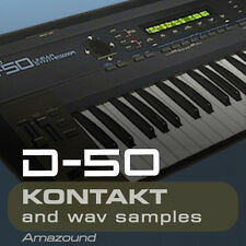 ROLAND D50 SAMPLES for KONTAKT 64 nki INSTRUMENTS 1151 WAV FILES Amazing Quality