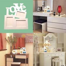New Durable Hollow Love Wooden Photo Picture Frame Rahmen DIY Home Decor