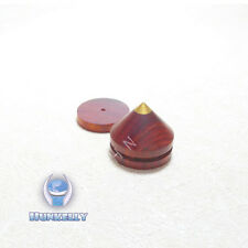 """Rosewood Speaker Spikes Feet with Copper 23mm 0.91"""" 1 Set For Isolating Audio"""