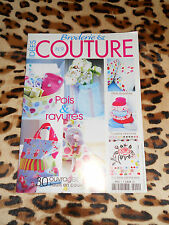 MAGAZINE IDEES COUTURE & BRODERIE n° 9 - Pois & rayures - 2005
