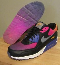 Nike Air Max 90 SD Black Persian Violet Pink Rainbow Men's Shoes size 10.5