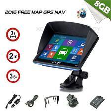 """Navigazione XGODY 7 """"pollici per auto e camion navigatore GPS Sat Nav 8GB Mappa"""