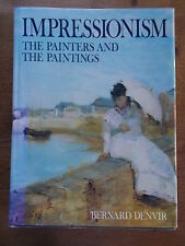 HUGE Folio IMPRESSIONISM The Painters and The Paintings Denvir Pull Out Pages