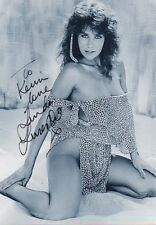 LINDA LUSARDI Signed 12X8 Photo PAGE 3 GLAMOUR MODEL COA