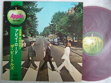 RED VINYL / THE BEATLES ABBEY ROAD / WITH OBI CLEAN COP'Y