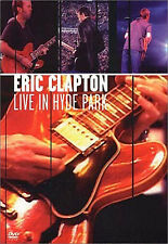 Eric Clapton - Live in Hyde Park (2001) / DVD, NEW