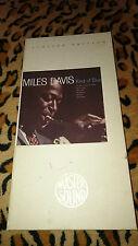 Miles Davis - Kind of Blue - Rare - 24Kt Gold MasterSound Audiophile wie MFSL