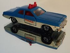 Vintage 1976 Tomy Tomica No.F8 Dodge Coronet Custom Police Car! Made in Japan!