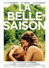 Affiche 40x60cm LA BELLE SAISON 2015 Cécile De France, Izïa Higelin, Lvovsky TBE