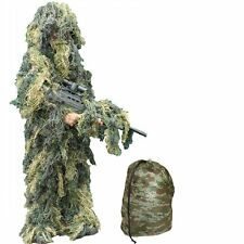 Kids Camo GHILLIE Costume Âge 8 - 12 ans-Kids Armée Camouflage Sniper Costume