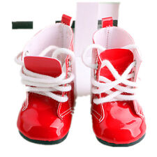 2017 A+gift for kid fashion boot shoes for 18inch American girl doll party b379