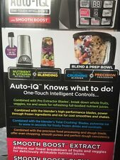 Nutri Ninja Pro Compact System with Auto-iQ BL492 1200W- NEW AND SEALED