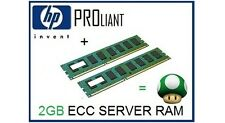 2GB (2x1GB) de RAM upgrade de memoria ECC para el servidor HP Proliant ML110 G5