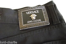 Vintage VERSACE Jeans Couture black Stretchy High Waist Jeans Trousers W 30 L 29