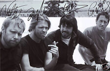 FOO FIGHTERS ENTIRE GROUP AUTOGRAPH SIGNED PP PHOTO POSTER