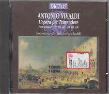 VIVALD L'OPERA PER TRAVERSIERE PARTE PRIMA CD