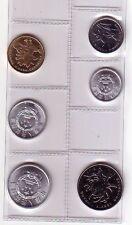 Cina  set 6 monete      unc