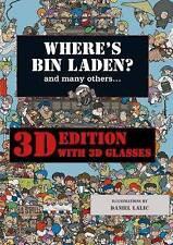 """""""Where's Bin Laden"""" by Daniel Lalic, Xavier Waterkeyn (Hardback, 2009)"""