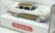 Wiking 1:87 Opel Olympia Rekord  1957 OVP  0080 40 Ascona perlweiss - gold