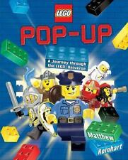 NEW Lego Pop-Up by Matthew Reinhart Hardcover Book (English) Free Shipping