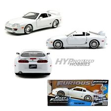 JADA 1:24 FAST AND FURIOUS BRIANS TOYOTA SUPRA 97375 WHITE