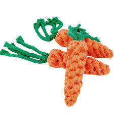 Pop Pet Rope Puppy Dog Cotton Chew Fun Toys Ball Play Clean Teeth Knot Carrot