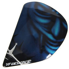 Arai Helmets PROFILE Viper Side Pods Shield Covers Holders SINISTER BLUE Parts