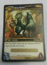 World of Warcraft King Mukla LOOT Unused Tcg UNSCRATCHED