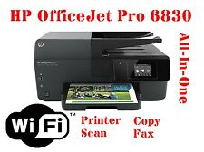 New HP OfficeJet Pro 6830 Printer WiFi All-In-One Scan Copy Fax Colour Photo