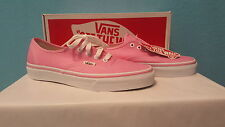 Vans off the wall authentic sneakers skater shoe pink Men 6 Womens 7.5 New NIB