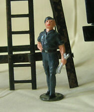 RAF Royal Air Force Mechanic, model train or plane figure, Reproduction Johillco