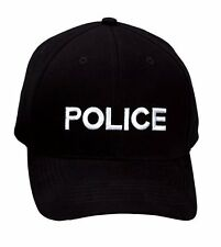 Police Supreme Low Profile Insignia Cap - Black 9283 Rothco