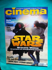 ►POLISH MAGAZINE CINEMA 1999 STAR WARS Phantom Menace Franka Potente Mel Gibson