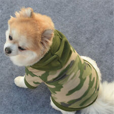 Dog Pet Clothes Hoodie Warm Sweater Puppy Coat Apparel L