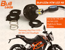 Bull-LEDs   KTM LED HEADLIGHT 2200LM & LED PARKING KIT FOR DUKE 200 390 DRL PnP