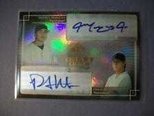 PHIL HUGHES/JEFFREY MARQUEZ 2004 SP Prospects Draft Duos Dual AUTO #'d/175 RC