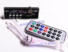 Bluetooth 4 Audio Receiver Plate FM USB SD WAV MP3 Decoding Board Remote Control