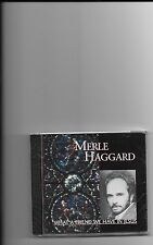 """MERLE HAGGARD, CD """"WHAT A FRIEND WE HAVE IN JESUS"""" NEW SEALED"""