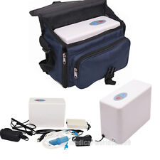 Portable Oxygenerate Oxygen Concentrator Generator+Battery+Bag Care/TRAVEL CE