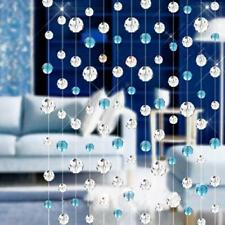Glass Crystal Bead Curtain Pelmets Home Living Room Bedroom Decor 3Choices
