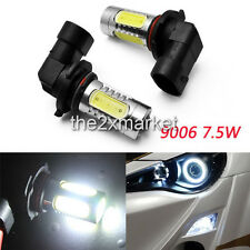 2pcs bright LED 7.5W White 9006/HB4 For BMW E46 M3 3 Fog DRL Lights Bulb-034