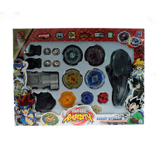 Top Metal Master Rapidity Fight Rare 4D Launcher Grip Toy Set Beyblade