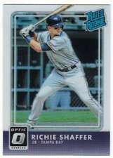 2016 Donruss Optic Rated Rookies RC Holo Refractor #45 Richie Shaffer Rays
