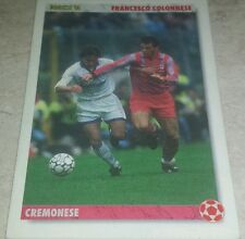 CARD JOKER 1994 CREMONESE COLONNESE CALCIO FOOTBALL SOCCER ALBUM