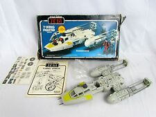 Vtg 1983 ROTJ Y-WING FIGHTER Vehicle w/ Original Box Clean Working Condition Toy